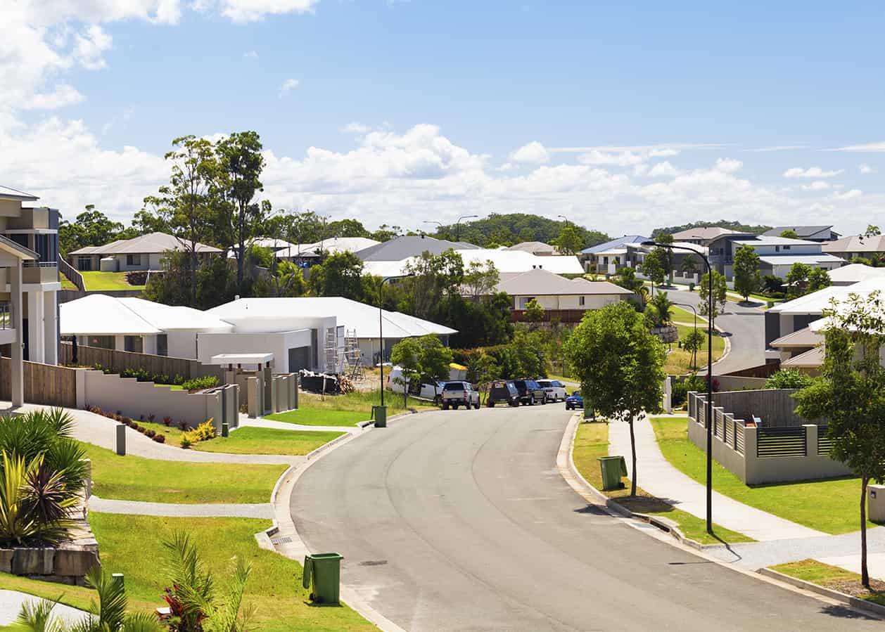 Australian suburban street