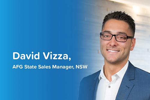AFG State Sales Manager David Vizza