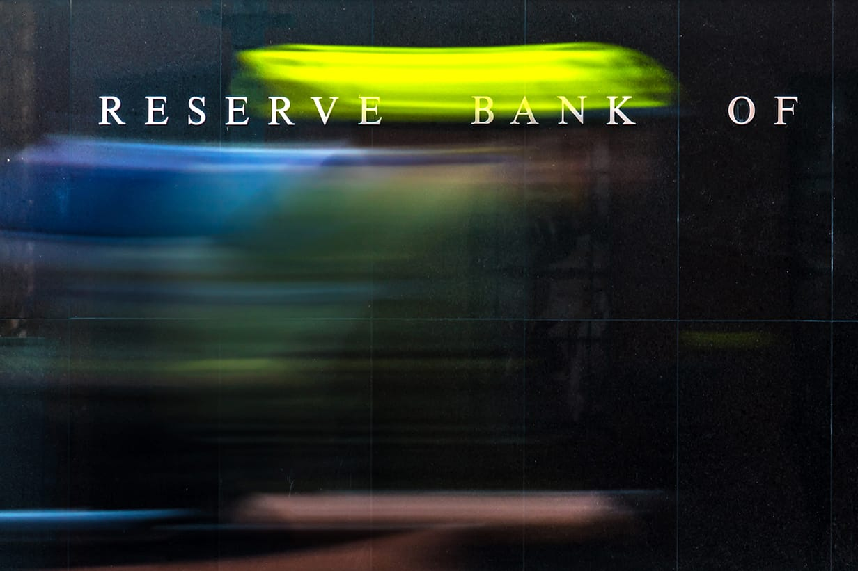 Reserve bank of australia sign