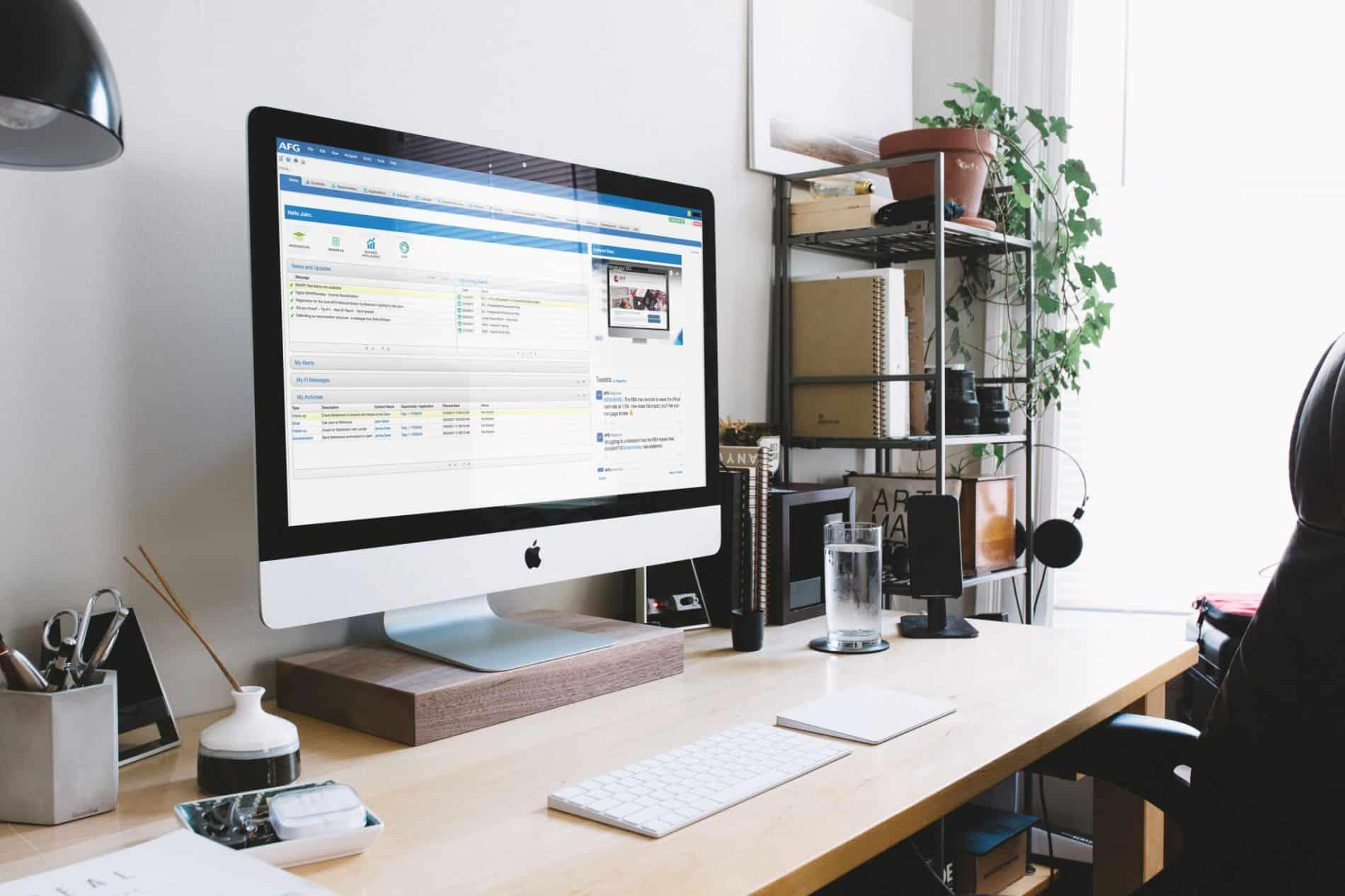Flex Desktop view
